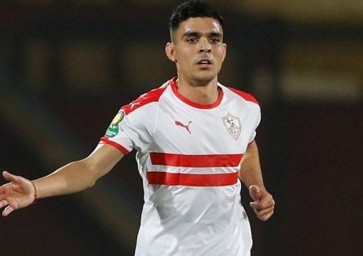 Achraf Bencherki, attaquant du Zamalek