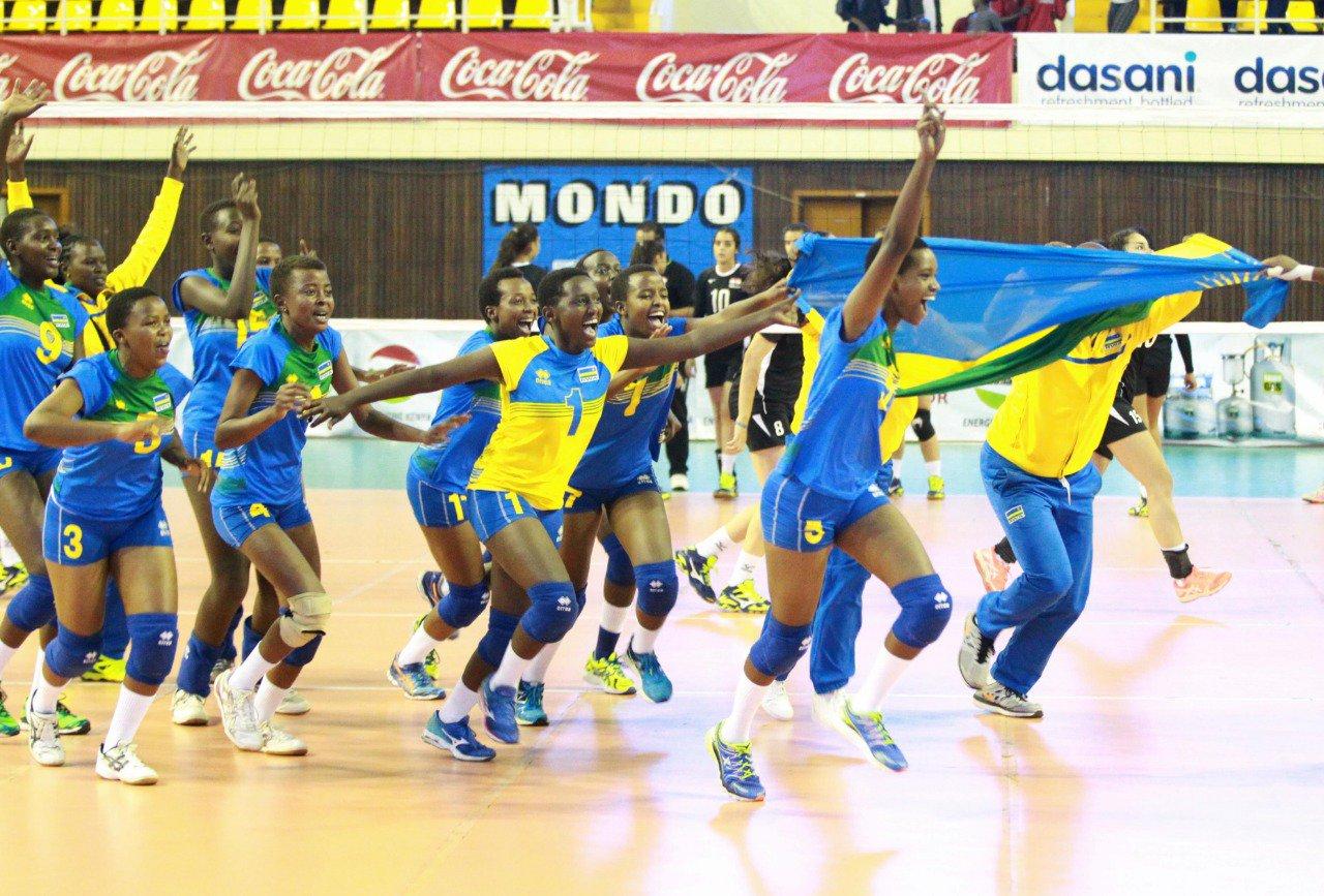 Volleyball-Rwanda-Christopher Mudahinyuka
