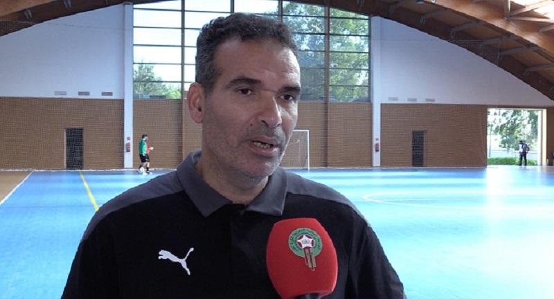 Hicham Dguig, coach du Maroc, veut se qualifier pour la première fois au 2e tour.