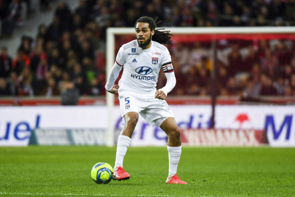 Jason DENAYER of Olympique Lyonnais during the Ligue 1 match between Lille and Lyon at Stade Pierre-Mauroy on March 8, 2020 in Lille, France. (Photo by Aude Alcover/Icon Sport) - Jason DENAYER - Stade Pierre Mauroy - Lille (France)