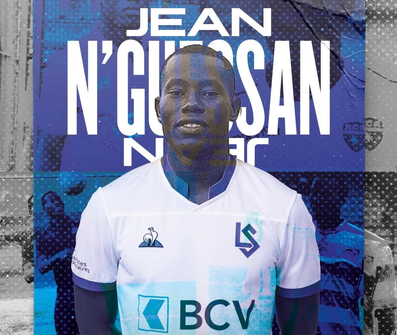 Jean Nguessan-Lausanne Sport-Racing Club Abidjan