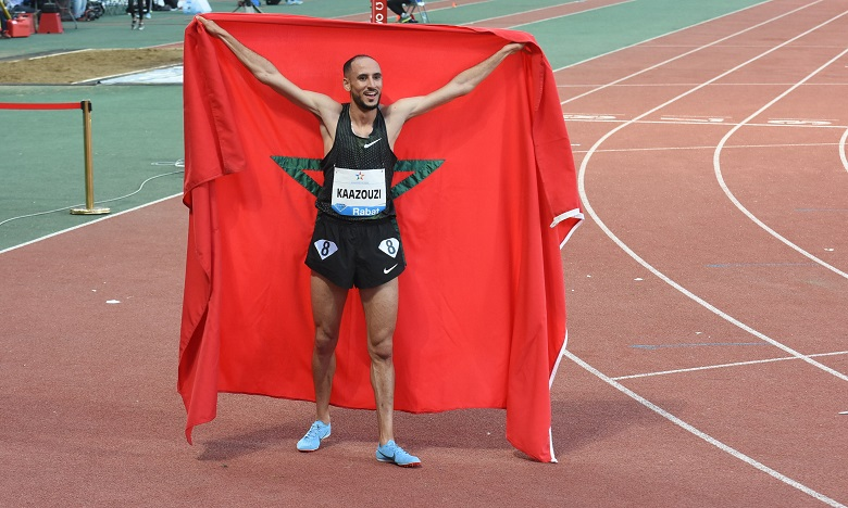 L'athlète marocain Brahim Kaazouzi.
