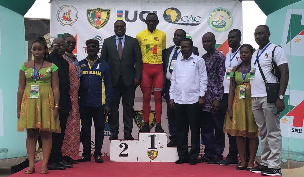 Malgré sa 5e place à l'arrivée de la 7e étape du Tour du Cameroun, le Camerounais Clovis Kamzong Abossolo conserve le maillot jaune.