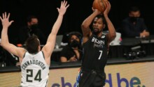 Kevin Durant-Brooklyn, Nets