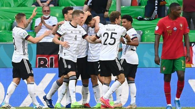 Les Allemands se sont fait peur face au Portugal avant de s'imposer 4-2.