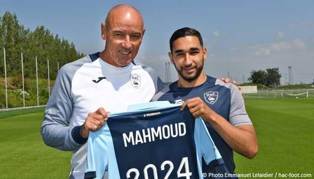 L'Algérien Elies Mahmoud poursuit son aventure avec Le Havre