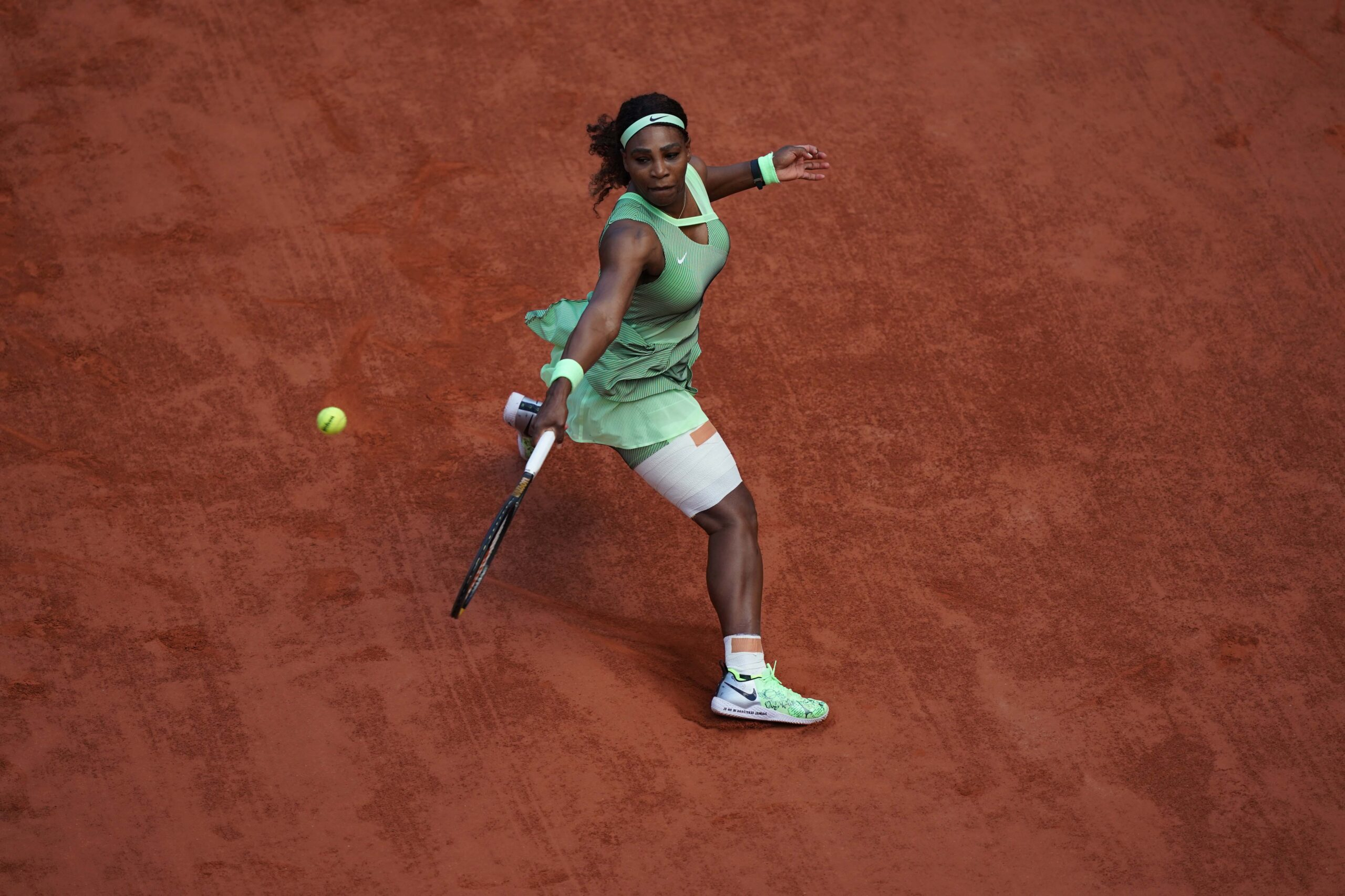 L'Américaine Serena Williams éliminée en huitièmes de finale à Roland-Garros