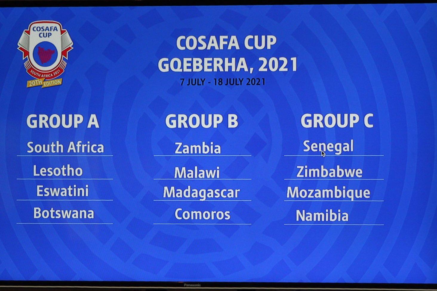 La Zambie remet son titre en jeu pour le tournoi qui se déroulera du 7 au 18 juillet en Afrique du Sud