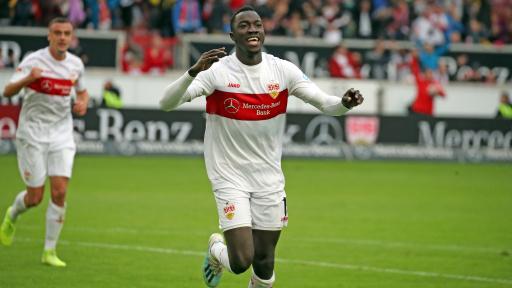 Le Congolais Silas Katompa Mvumpa, milieu de terrain offensif du VfB Stuttgart jouait sous une fausse identité