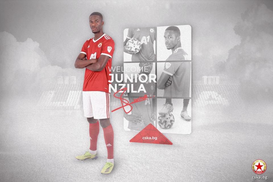 Le Franco-Congolais Junior Nzila en prêt au CSKA Sofia en Bulgarie