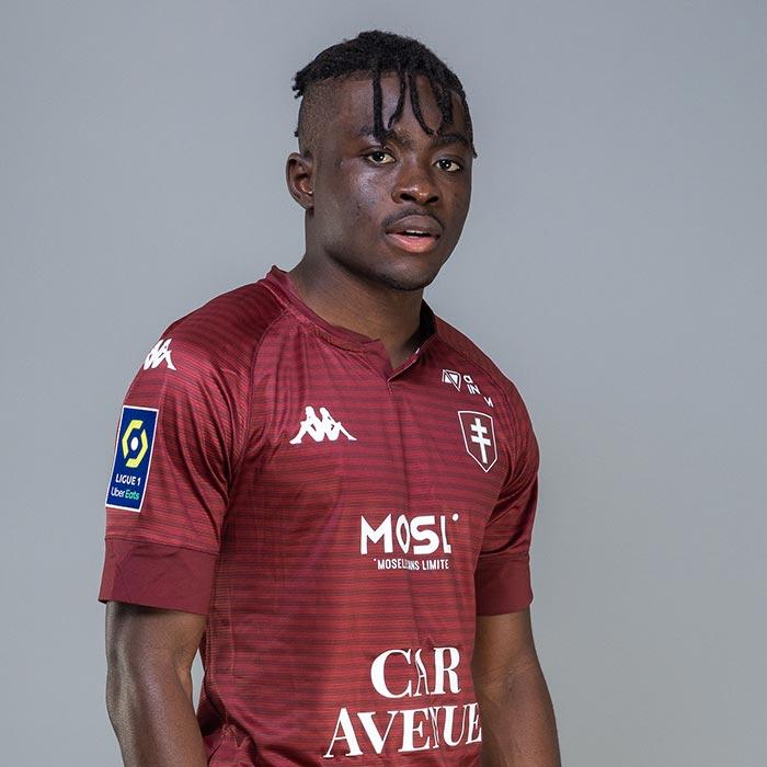 Le Ghanéen Ernest Boahene quittera le FC Metz à la fin de ce mois.