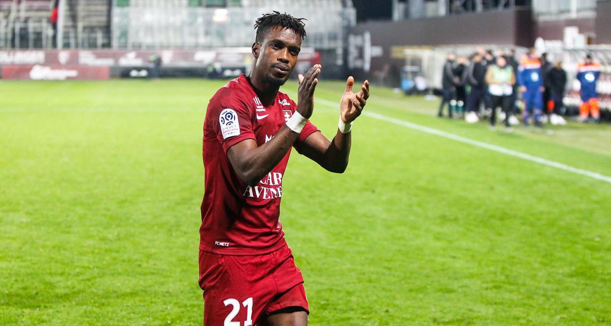 Le Ghanéen John Boye quittera le FC Metz  durant le mercato estival