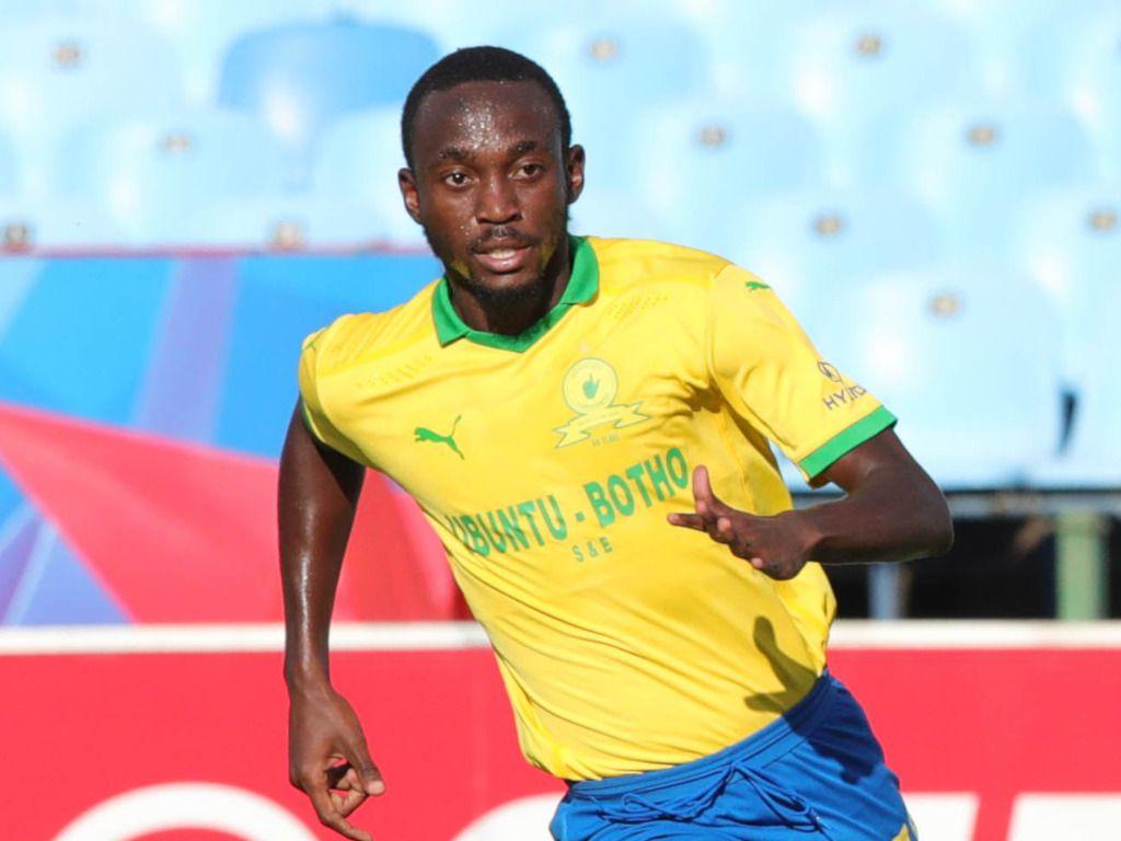 Le Namibien Peter Shalulile des Mamelodi Sundowns est meilleur joueur du championnat Sud-africain