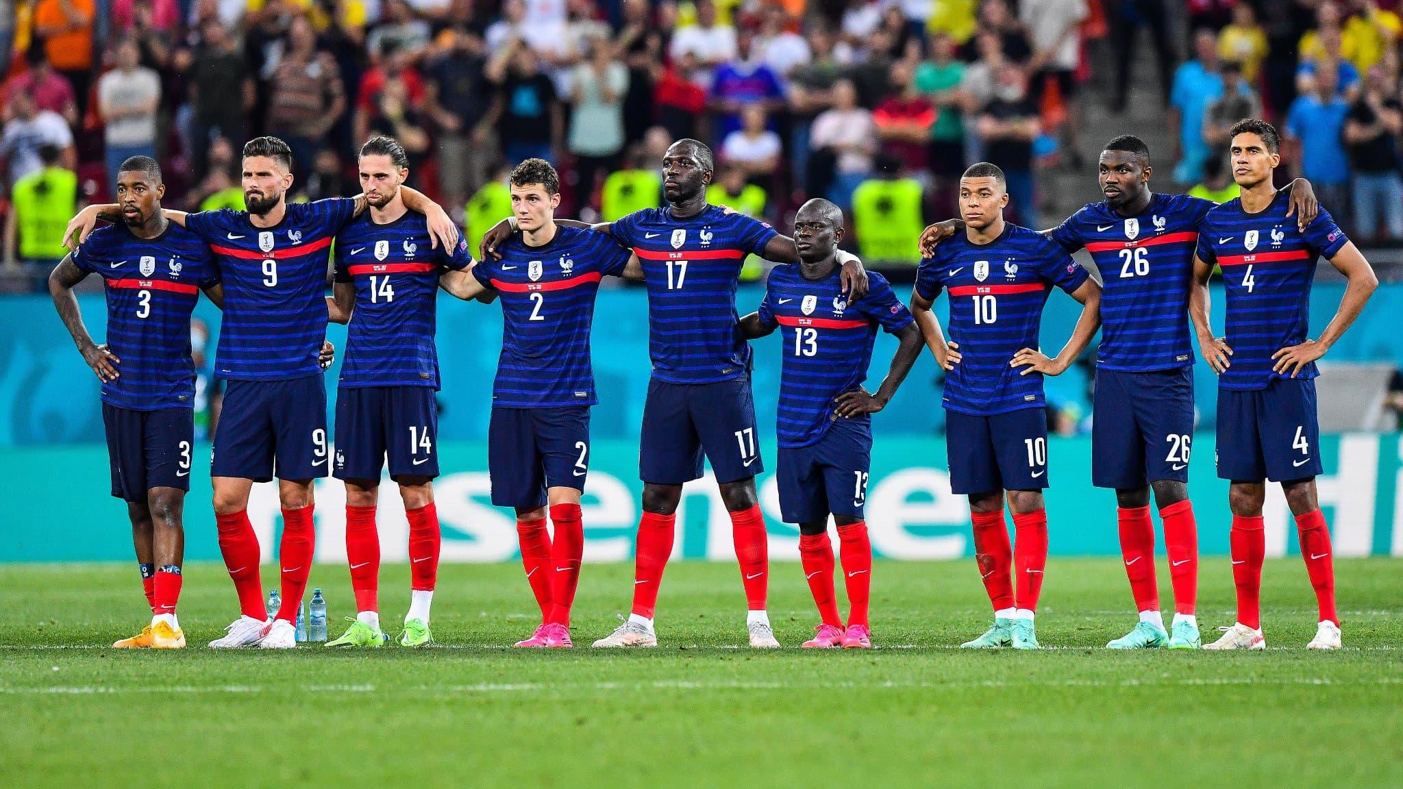 Les Bleus ont été freinés en huitième de finale de l'Euro 2020 par la Suisse.