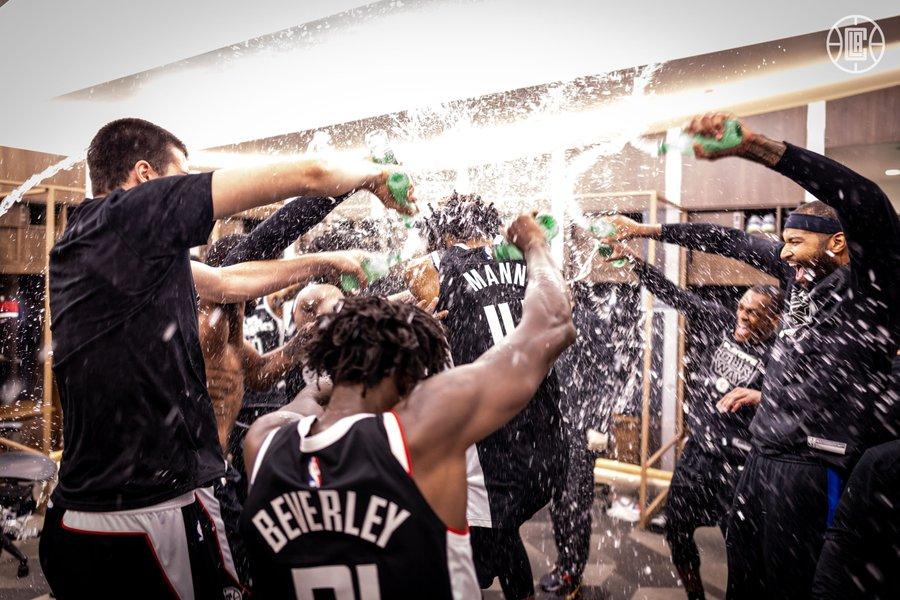 Les Clippers fêtent leur qualification en finale