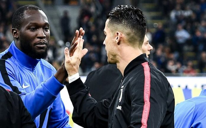 Lukaku (Inter Milan) et Ronaldo (Juventus) en Série A.