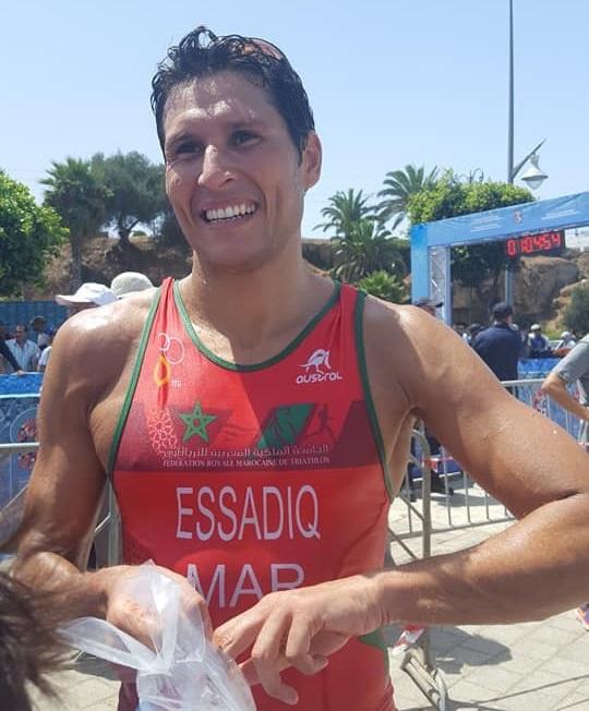 Pour la première fois, le triathlon marocain participera aux JO avec Mehdi Essadiq.