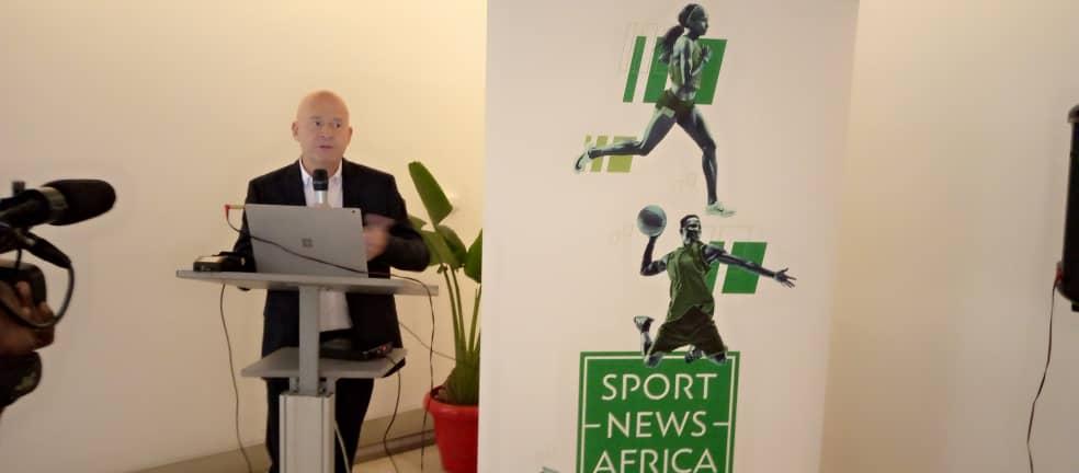 Olivier Lombart, COO de Sport News Africa.