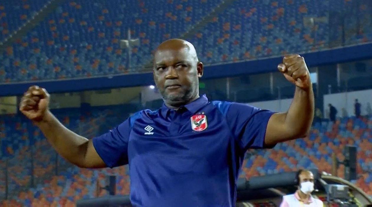 Pitso Mosimane, entraîneur d'Al Ahly