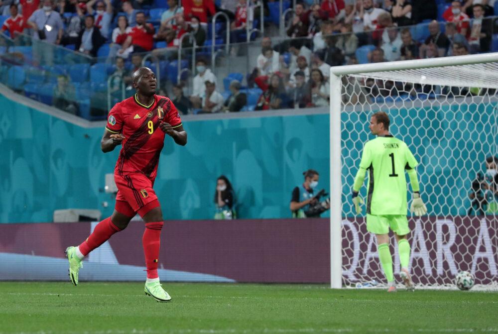 Romelu Lukaku-Belgique