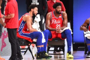 Simmons et Embiid, les deux stars de Philadelphie