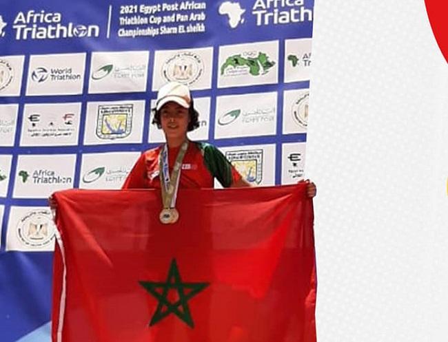 Le Marocain Islam Bakhibkhi est champion arabe dans la catégorie U17.
