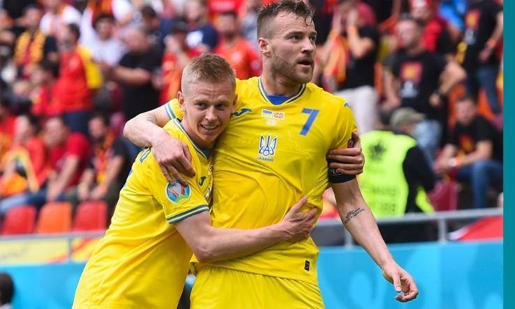 Ukraine bat la Macédoine du nord 1