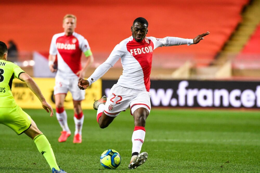 Youssouf FOFANA of Monaco during the Ligue 1 match between AS Monaco and Angers on February 4, 2020 in Monaco, Monaco. (Photo by Pascal Della Zuana/Icon Sport) - Stade Louis-II - Monaco (France)