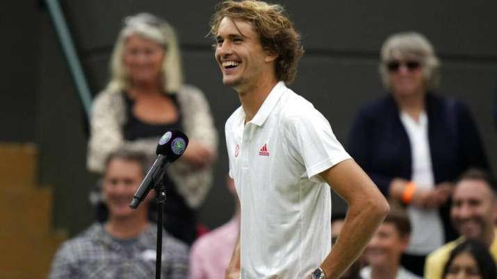 Alander Zverev se qualifie pour le deuxième tour à Wimbledon
