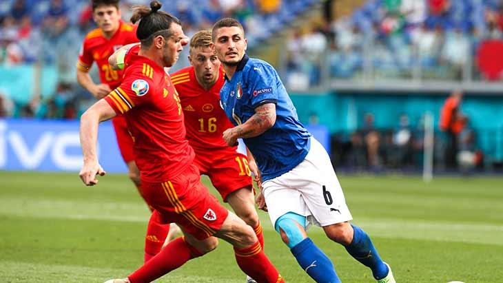 L'Italie de Verratti et le Pays de Galles de Bale sont qualifiés en huitièmes.