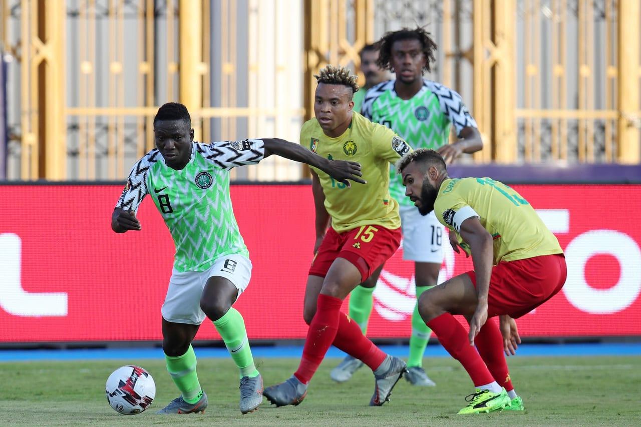 Nigeria-Cameroun (3-2), huitièmes de finale CAN 2019. Les deux équipes se retrouvent en amical ce vendredi 4 juin en Autriche.