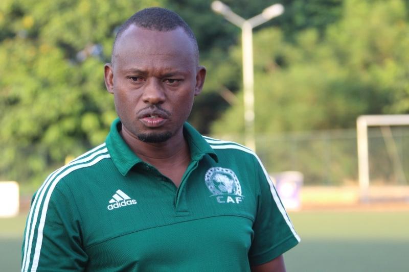 Jimmy Ndayizeye, sélectionneur du Burundi.