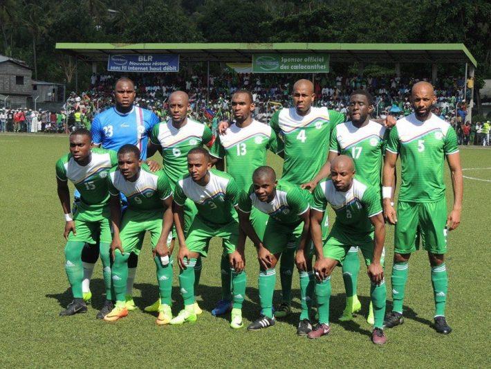 La sélection des Comores.