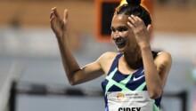 Letensebet Gidey, record du monde