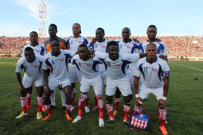 La sélection du Liberia.