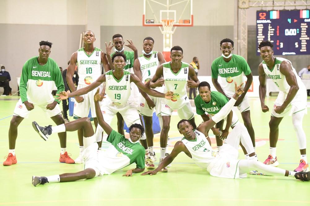 La sélection U19 du Sénégal.