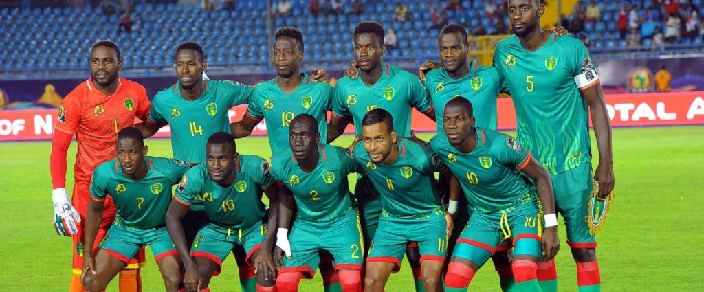 La sélection de la Mauritanie.