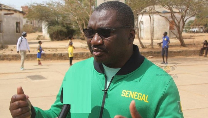 Babacar Ndiaye, président de la Fédération sénégalaise de basketball.