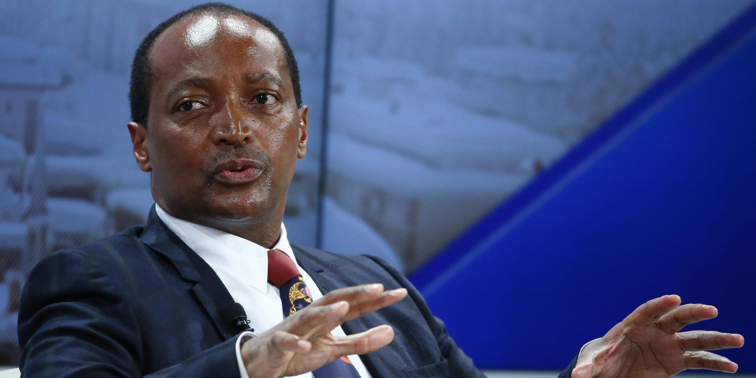 Patrice Motsepe, président de la CAF.