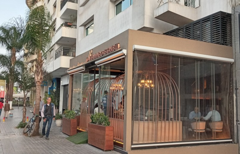 Restaurant turc-Euro 2020