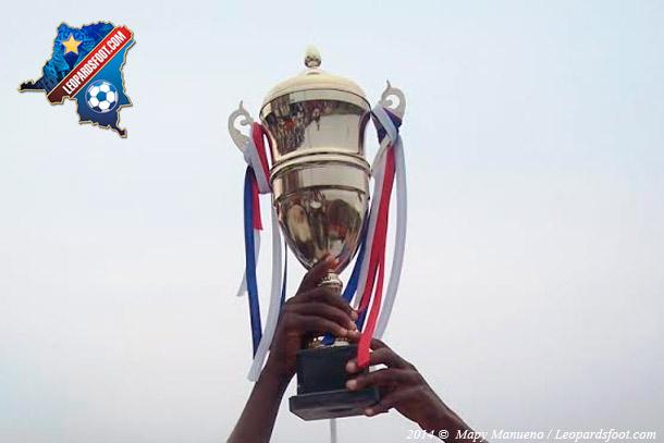 Le trophée de la Coupe de la RD Congo.