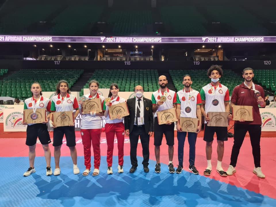 L'équipe marocaine rentre de Dakar avec 13 médailles.