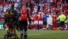 Eriksen victime d'un arrêt cardiaque
