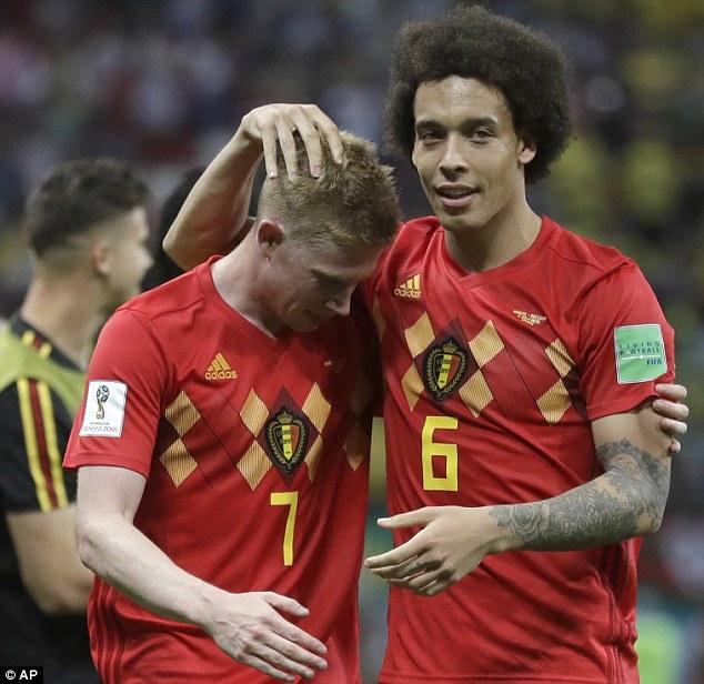 La Belgique va affronter la Russie, samedi, sans De Bruyne (7) et Witsel.