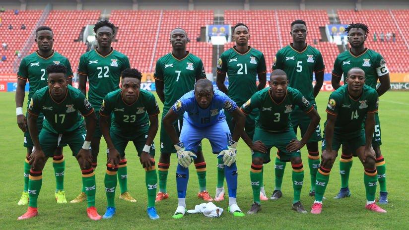 La sélection zambienne.