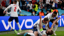 Angleterre en finale Wembley 1
