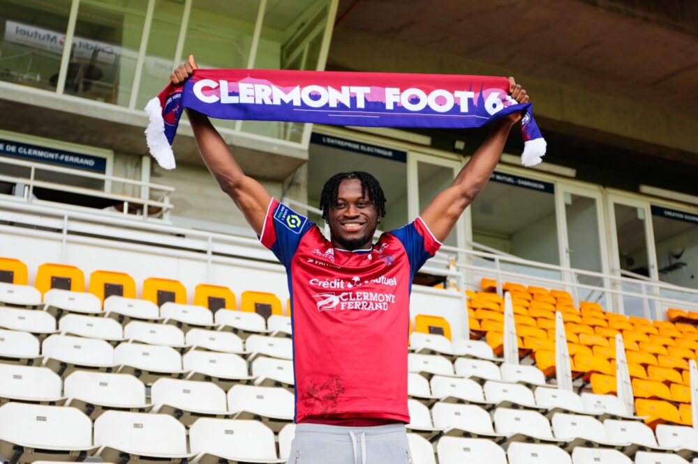 Arial Mendy à Clermont Foot