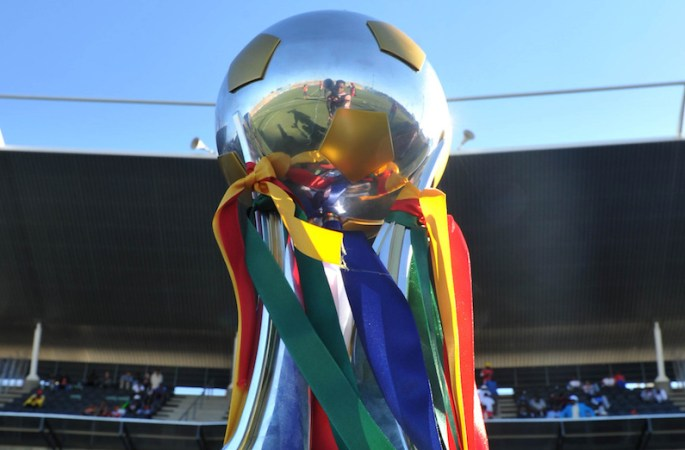 Le trophée COSAFA.