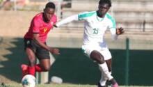 Cosafa Cup Sénégal vs Mozambique