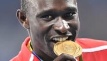 David Rudisha, deux médailles d'or aux Jeux olympiques d'été